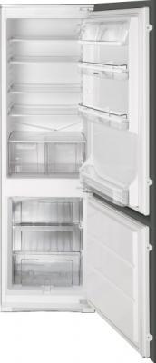 Холодильник с морозильником Smeg CR324P - общий вид