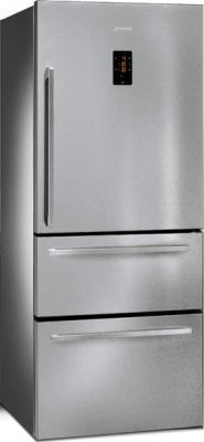 Холодильник с морозильником Smeg FT41BXE - общий вид