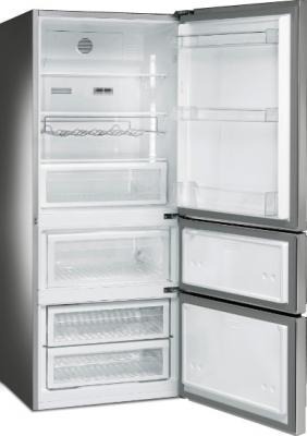 Холодильник с морозильником Smeg FT41DXE - с открытой дверью