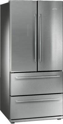 Холодильник с морозильником Smeg FQ55FX - общий вид