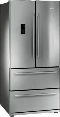 Холодильник с морозильником Smeg FQ55FXE - общий вид