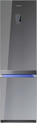 Холодильник с морозильником Samsung RL55TTE2A1 - вид спереди