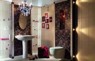 Плитка для стен ванной Tubadzin Delice Choco (360x250)