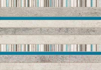 Декоративная плитка для ванной Tubadzin Gris Turkus CER (360x250)