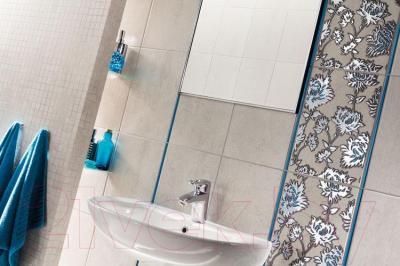 Плитка для стен ванной Tubadzin Gris Szary (360x250)