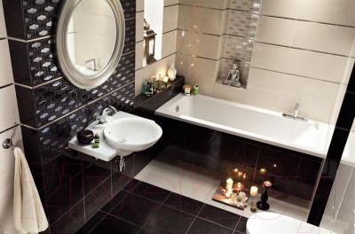 Плитка для пола ванной Tubadzin Opium Krem (333x333)