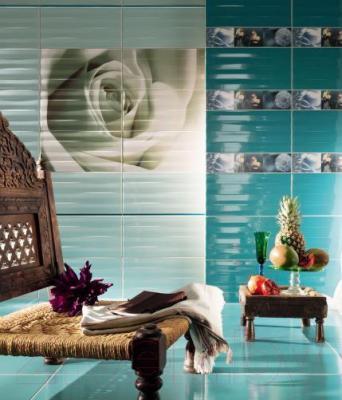 Декоративная плитка Tubadzin Панно Maxima Azure 1 (898x673)