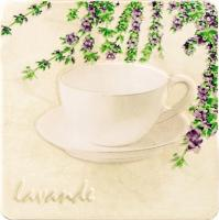 Декоративная плитка для кухни Tubadzin Samaria Lavande 1 (200x200) -