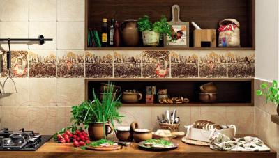 Декоративная плитка Tubadzin Samaria Lavande 4 (200x200)