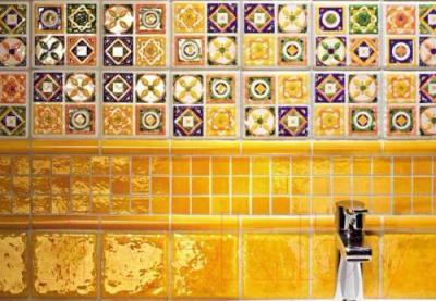Декоративная плитка Tubadzin Majolika Quartet 1 (115x115)
