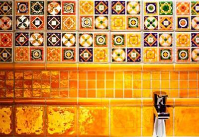 Декоративная плитка Tubadzin Majolika Quartet 4 (115x115)