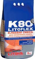 Клей для плитки Litokol Litoflex K80 Eco (5кг) -