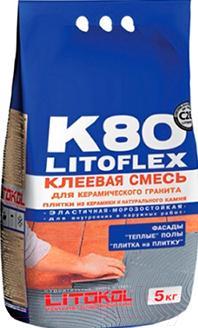 Клей для плитки Litokol Litoflex K80 Eco (5кг)