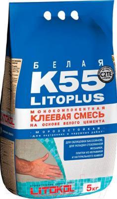 Клей для плитки Litokol Litoplus K55 (5кг)