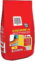 Фуга для плитки Litokol Litochrom 1-6 C.70 (2кг, светло-розовый) -