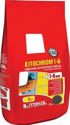Фуга для плитки Litokol Litochrom 1-6 C.200 (2кг, венге)