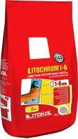 Фуга для плитки Litokol Litochrom 1-6 C.500 (2кг, красный кирпич) -