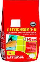 Фуга для плитки Litokol Litochrom 1-6 C.60 (5кг, бежевый/багама) -