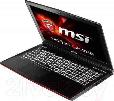 Ноутбук MSI GE62 2QC Apache (9S7-16J222-242)