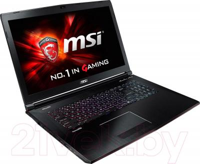 Ноутбук MSI GE72 2QF Apache Pro (9S7-179111-214)