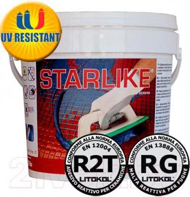 Фуга для плитки Litokol Litochrom Starlike C.240 (1кг, черный)