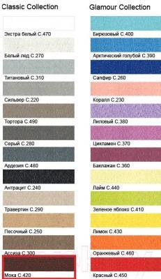Фуга для плитки Litokol Litochrom Starlike C.420 (2.5кг, мокко) - палитра цветов