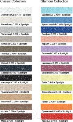 Добавка к затирочным смесям Litokol Spotlight (75г) - палитра цветов