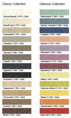 Добавка к затирочным смесям Litokol Gold (150г) - палитра цветов