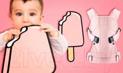 Эрго-рюкзак BabyBjorn One Cotton Mix Ice Cream 0910.55 (клубничный)
