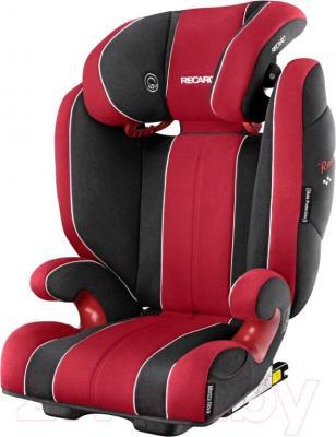 Автокресло Recaro Monza Nova 2 Seatfix (черно-красный)