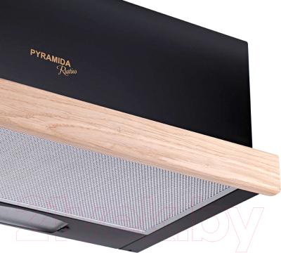 Вытяжка телескопическая Pyramida TL 60 Wood Black/N
