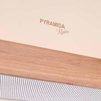Вытяжка телескопическая Pyramida TL 60 Wood Ivory/N
