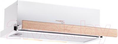 Вытяжка телескопическая Pyramida TL 60 Wood White/N