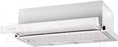 Вытяжка телескопическая Pyramida TL Full Glass 50 Inox White/N