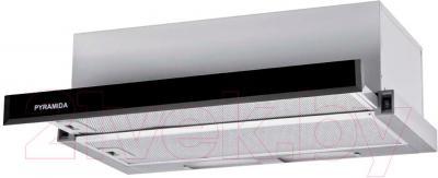 Вытяжка телескопическая Pyramida TL Full Glass 60 Inox White/N