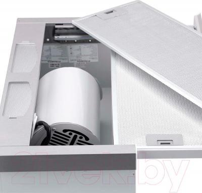 Вытяжка телескопическая Pyramida TL Glass 50 Inox White/N
