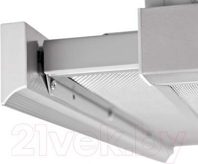 Вытяжка телескопическая Pyramida TL Glass 60 Inox White/N