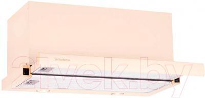 Вытяжка телескопическая Pyramida TL 60 (1000) Ivory/U
