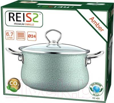 Кастрюля Reisz RZ-405 (зеленый)