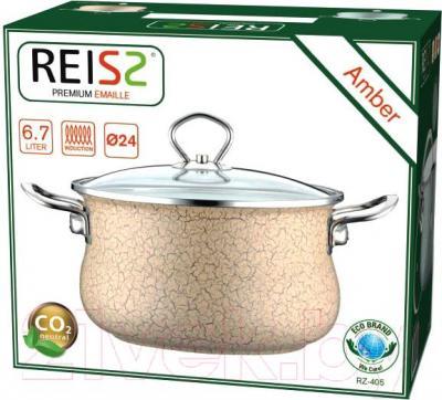 Кастрюля Reisz RZ-405 (желтый)