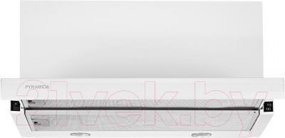Вытяжка телескопическая Pyramida TL 60 (1000) White/U