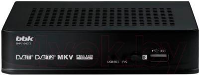 Тюнер цифрового телевидения BBK SMP010HDT2 (черный)