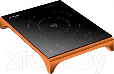 Электрическая настольная плита Oursson IP1220T (оранжевый)