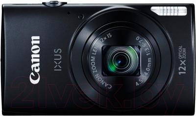 Компактный фотоаппарат Canon IXUS 170 (черный)