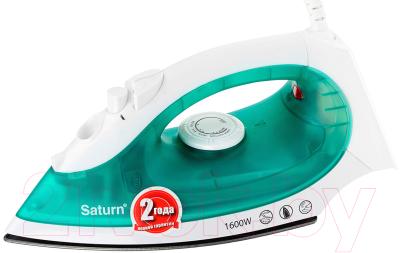 Утюг Saturn ST-CC7113 (белый/зеленый)