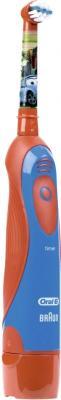 """Электрическая зубная щетка Braun Oral-B Stages Power DB4.510.K 80250540 (красный, """"Тачки"""")"""
