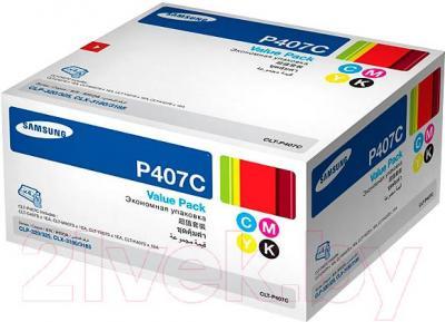 Комплект картриджей Samsung CLT-P407C