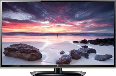 Телевизор LG 32LS570T - вид спереди