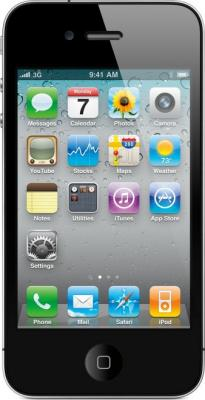 Смартфон Apple iPhone 4s Black - общий вид