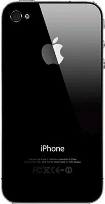 Смартфон Apple iPhone 4s Black - задняя панель